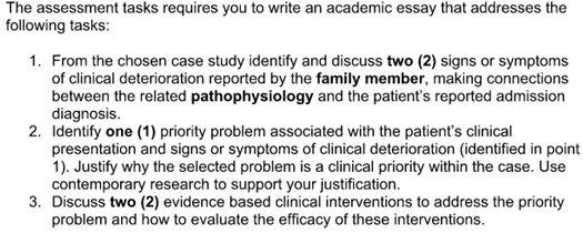 Adam Case study sample online