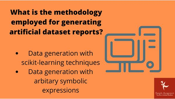 Artificial Datasets assignment services online