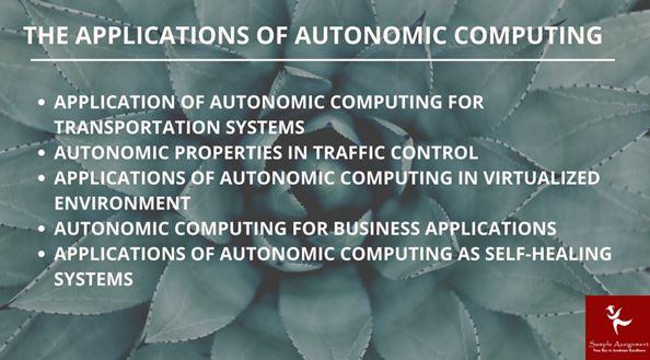 Autonomic Computing Academic Assistance through Online Tutoring