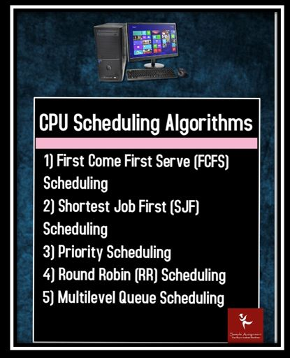 CUP Scheduling Alogrithms
