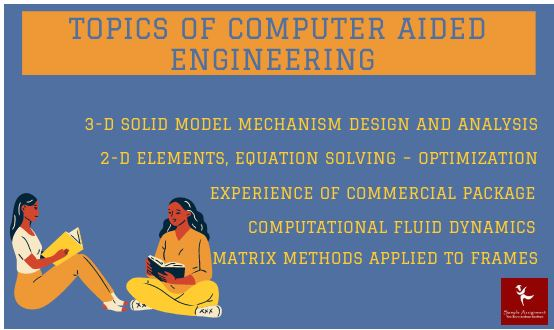 Computer Aided Engineering Assignment TOPICS