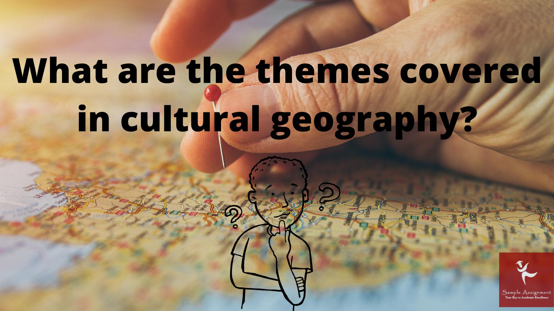 Cultural Geography Academic Assistance through Online Tutoring