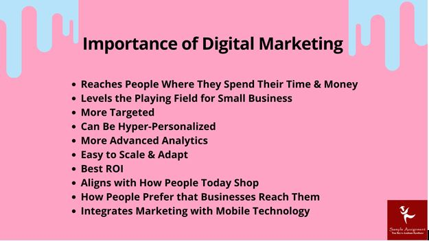 Digital Marketing Strategy Report Writing Help