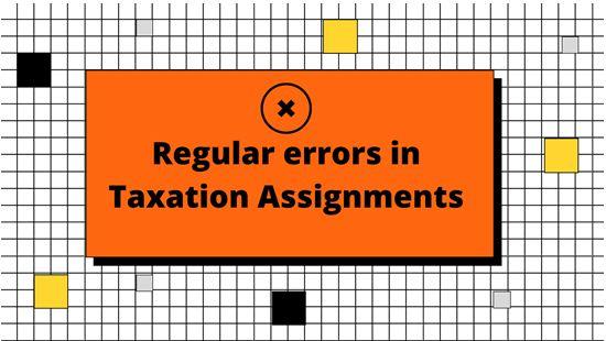 Tax Return Assignment Help
