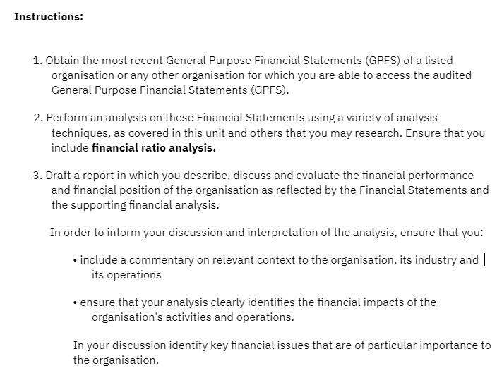 Financial Decisions Report Writer