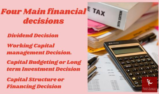 Financial Decisions Report Writing
