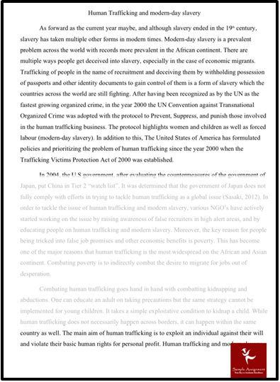Global Economy Dissertation Help Human Trafficking
