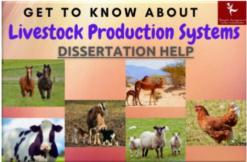 Livestock Production Systems Dissertation Help