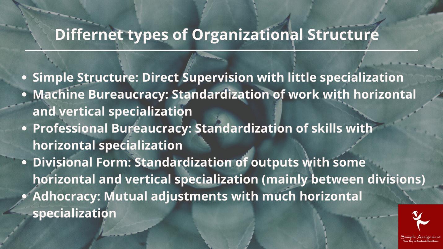 Organisational analysis assignment help