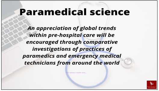 Paramedical Science Academic Assistance through Online Tutoring
