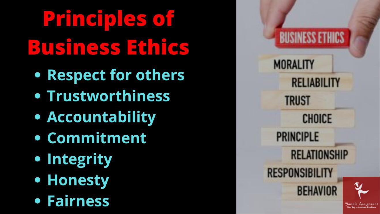 Principle of business ethics