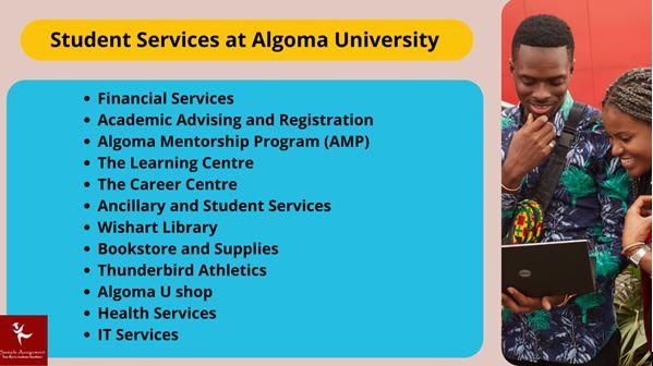 Student service at Algoma University