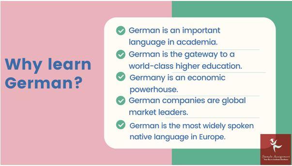 German assignments help
