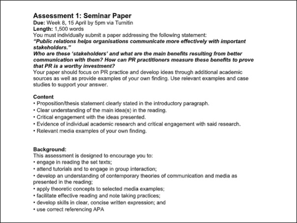 analyse public relations tactics essay writing sample assessment