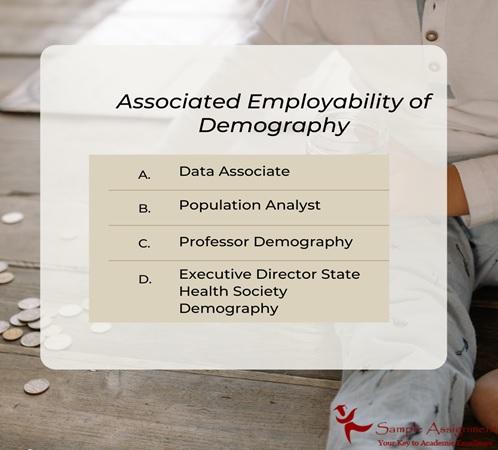 associated employability of demography
