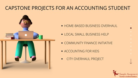 capstone projects for an accounting student