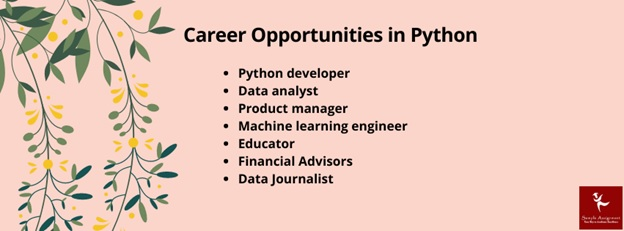 career opportunities in python