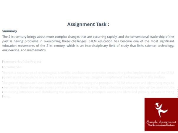 century leadership assignment sample task