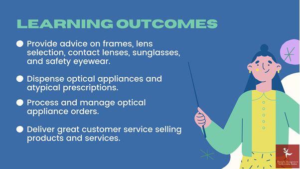 certificate iv in optical dispensing