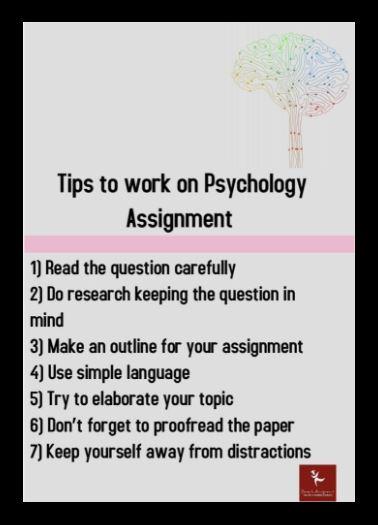 clinical psychology assignment