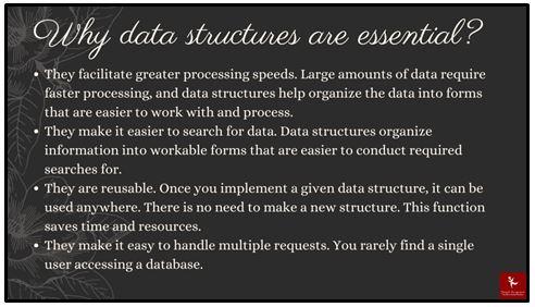 data structure dissertation help importance