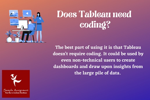 does tableau need coding