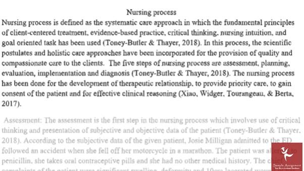 fracture nursing homework sample solution