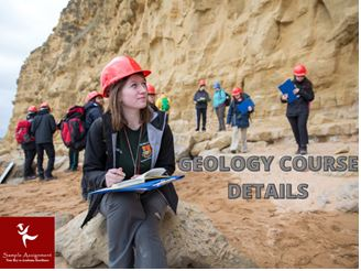 geology assignment online