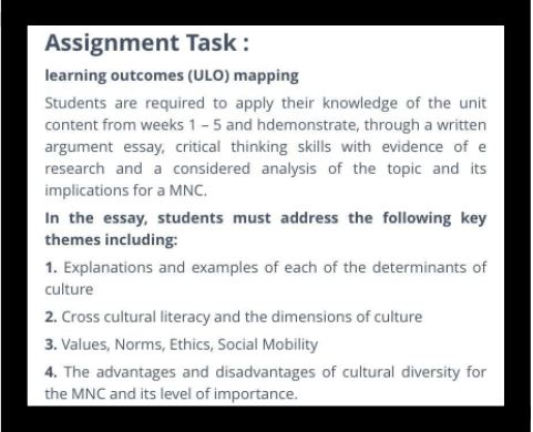health diversity assignment online