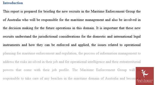 help with maritime studies assignment