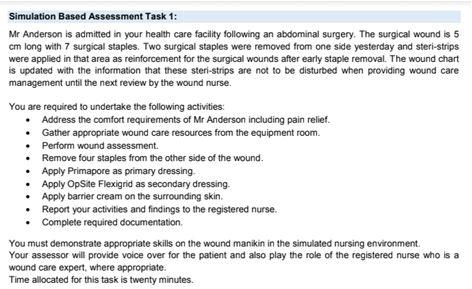 hlt54115 diploma of nursing sample