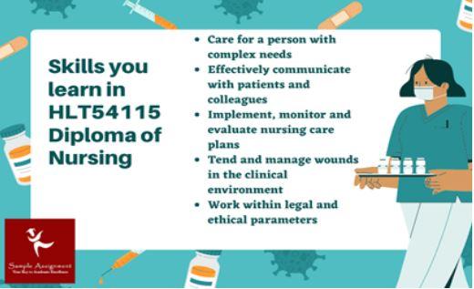 hlt54115 diploma of nursing