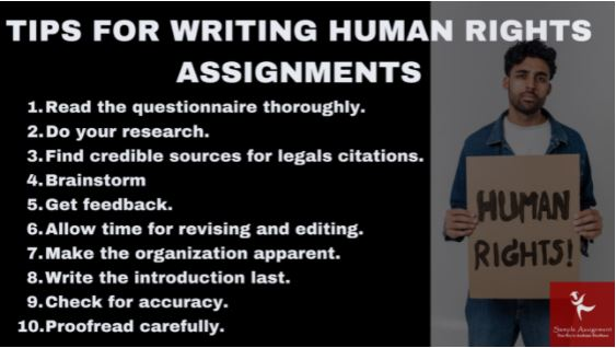 human rights assignment online
