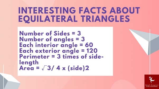 interesting facts about equilateral triangles