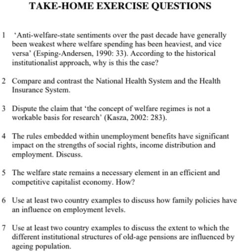 international public and social policy assignment
