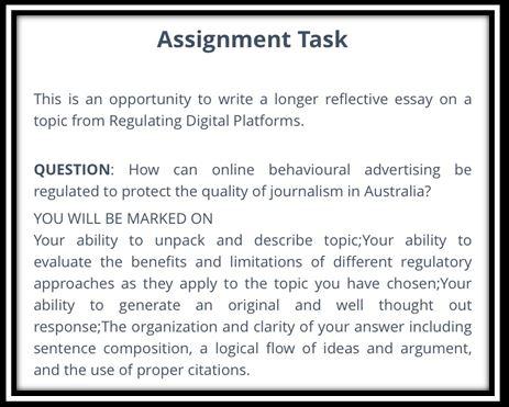 journalism academic assistance through online tutoring task