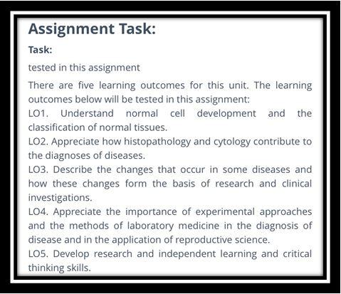 laboratory medicine assignment
