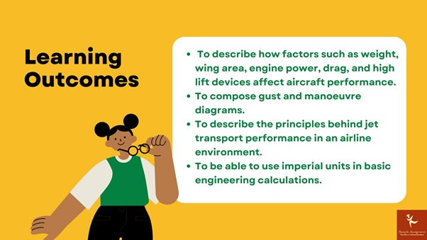 learning outcomes of aircraft design principles academic assistance through online tutoring
