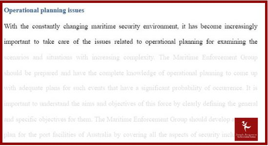 maritime law assignment sample solution