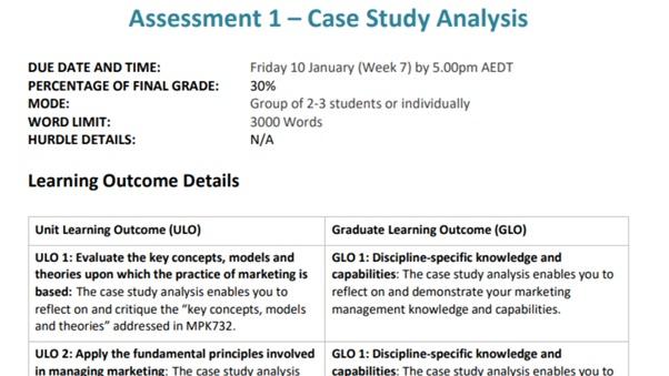 marketing dissertation help sample assessment