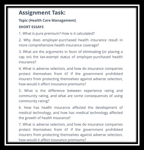 medical technology assignment sample task