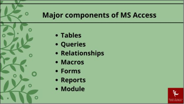 ms access assignment online