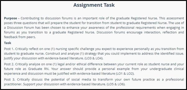 nrsg367 transition to professional nursing assignment sample task 2