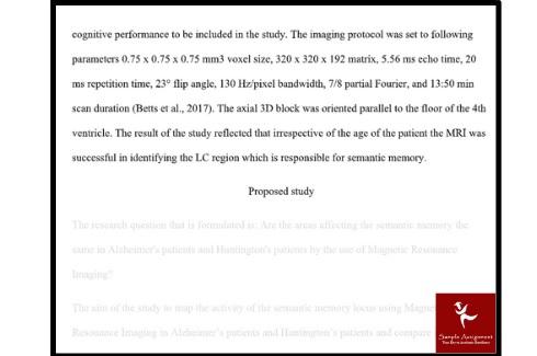 online behavioural neuroscience assignment sample