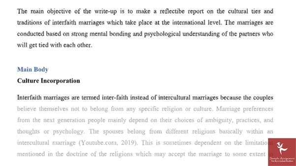 online comparative religions assignment sample answer