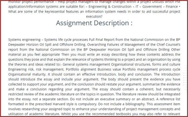 online geo planning and design sample assignment description