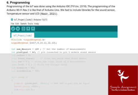 online iot assignment sample