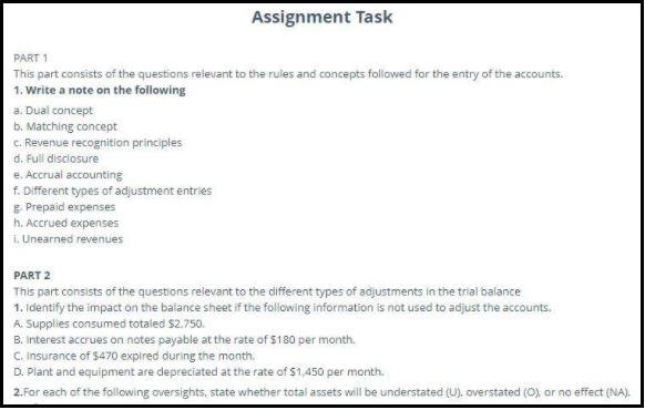 revenue recognition assignment sample