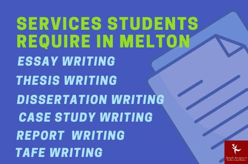 services student required in melton