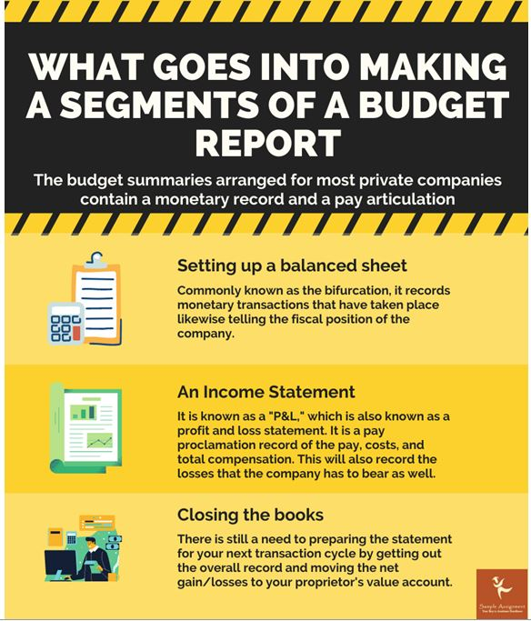 statements of a budget report